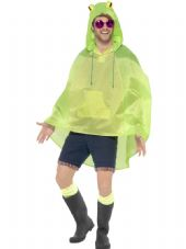 Party Poncho - Frog